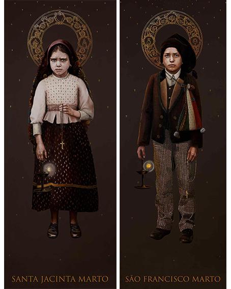 Fátima: Conheça as imagens oficiais dos novos santos