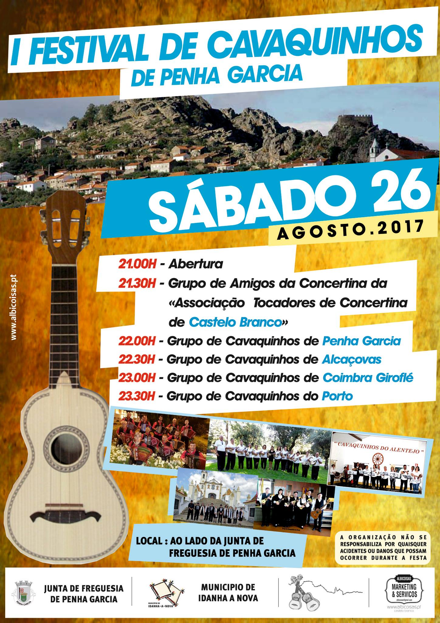 Idanha-a-Nova: Penha Garcia recebe 1º Festival de Cavaquinhos dia 26